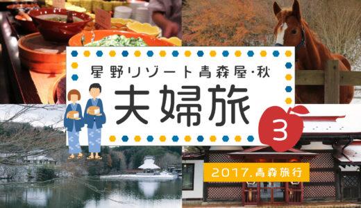 【2017青森旅行】星野リゾート青森屋で夫婦旅行 ③